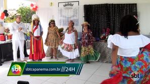 Academia da Saúde Manoel Valente fez evento em homenagem ao dia do folclore
