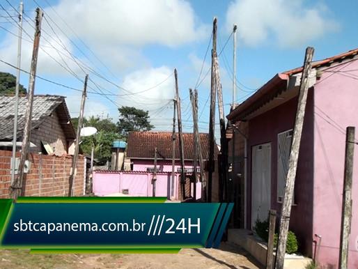 Morador reclama da falta de iluminação pública no Bairro São José