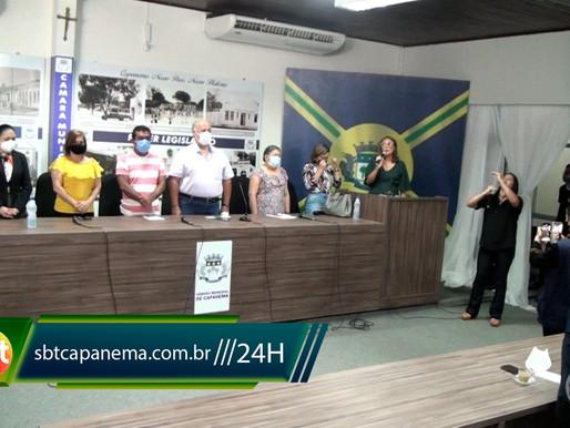 Câmara de vereadores realiza sessão solene para posse do conselho municipal de educação