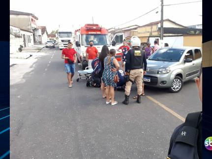 Irresponsabilidade no trânsito em Capanema