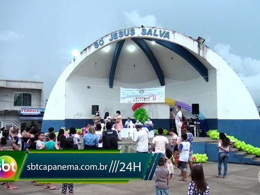 Brincando na Primeira Infância, evento realizado pela Secretaria de Assistência Social