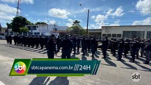 11° Batalhão de Capanema faz inspeção de fardamento da tropa