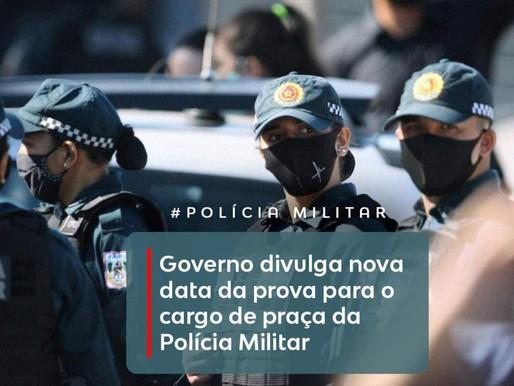 Governo divulga nova data da prova para o cargo de praça da Polícia Militar do Pará