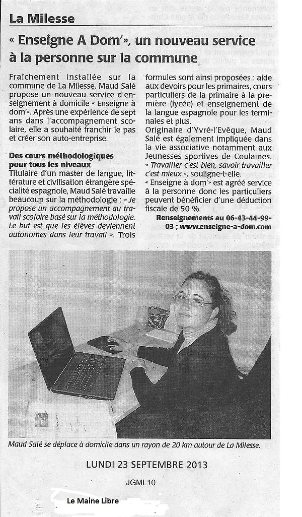 Article_Le_Maine_Libre_lundi_23_septembr