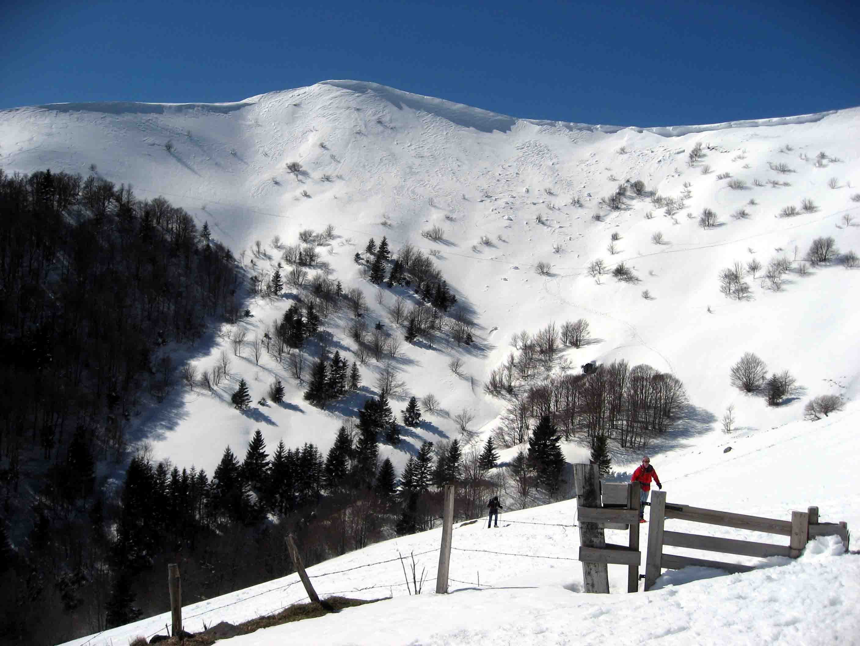 Snowshoeing in Lioran