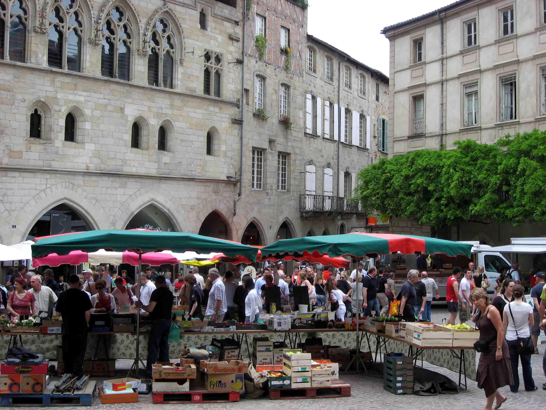 Figeac market