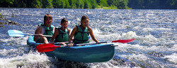 Canoeing fun