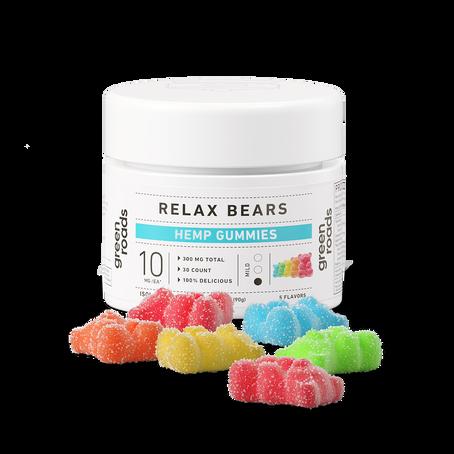 Green Roads, Relax Gummy Bears