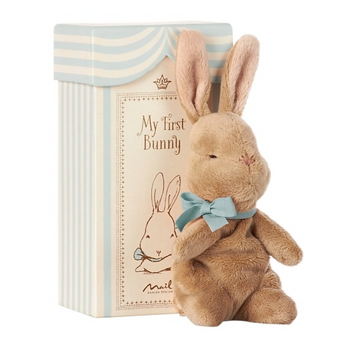 Maileg My First Bunny Blue - In Box