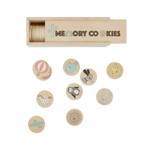 Oyoy Wooden Memory Cookies