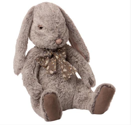 Maileg Fluffy Bunny - X Large Grey