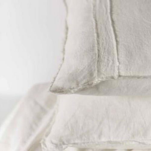 Linen king sheet set shallow