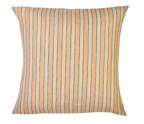 Sage & Clare Mathilde Stripe Euro pillowcase set - Cantaloupe