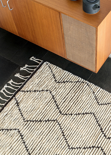 Armadillo & Co. Nala Rug - Natural&Slate