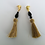 Thumbnail: The Grecian Earrings Black