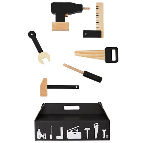 Designer Letters - Wooden Tool Set