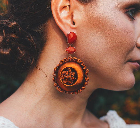 La Feria de Abril earrings