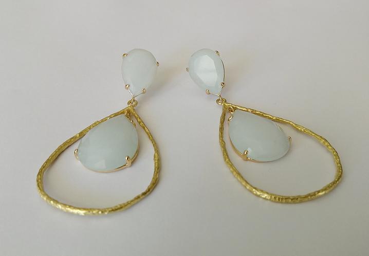 The Jaded Sky Earrings