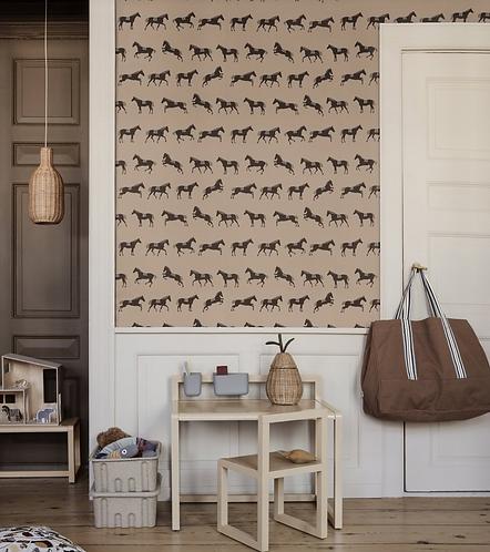 ferm LIVING Wallpaper - Horses