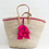 Thumbnail: Fiesta tassel market basket