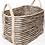 Thumbnail: Handwoven large jute basket