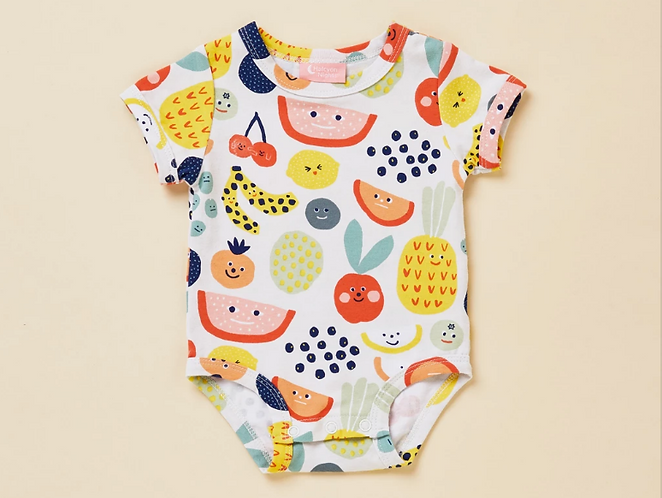 Fruit Tingle - Short sleeve body suit
