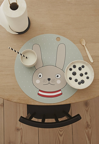 Oyoy Placemat - Rabbit