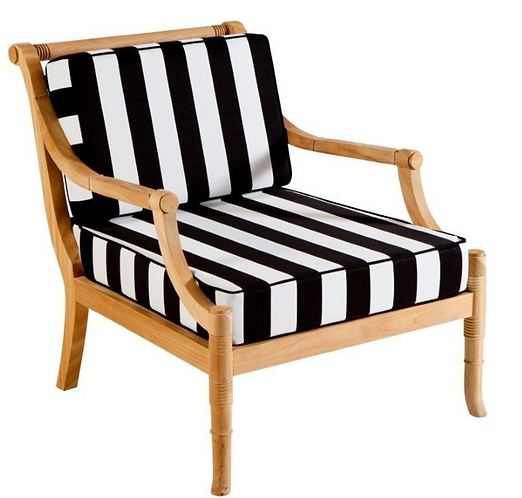 Bahama Outdoor Armchair -Custom Fabric Selections