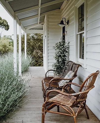 Rattan Veranda Chair - Natural