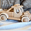 Thumbnail: Wooden push along toy car