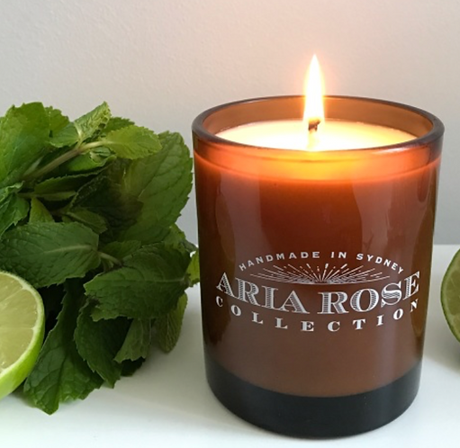 Aria Rose 9OZ 50 hour candle