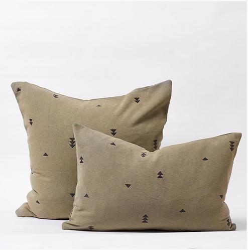 Vintage Wash Cushions - Olive