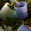 Thumbnail: Opaque Glass Carafe - Bleuet