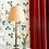 Thumbnail: Scalloped Raffia Lampshade -Small