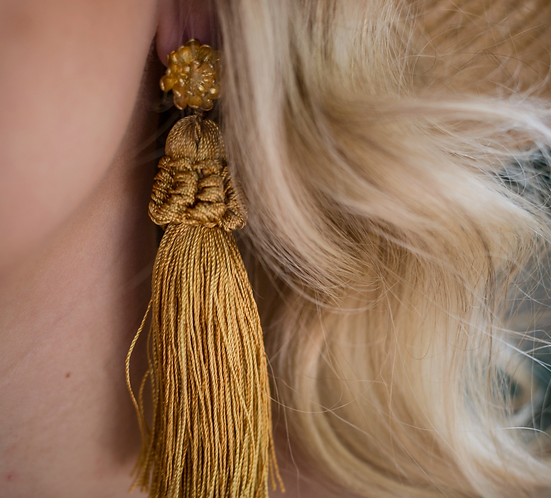 Honey blossom earrings