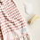 Thumbnail: Miss April Turkish Hand Towel - Pom Pom Pale Pink