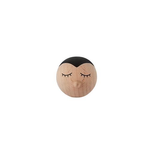 Oyoy Wooden Mini Hook - Penguin