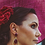 Thumbnail: The jaded bougainvillea earrings