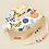 Thumbnail: Halcyon Nights Fruit Tingle - Sun days reversible hat