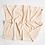 Thumbnail: Luxe Turkish bathmat natural stripe
