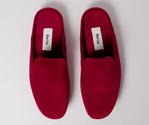 LIMITED STOCK MONOGRAMMED  MONTE Slides - Mulberry Red