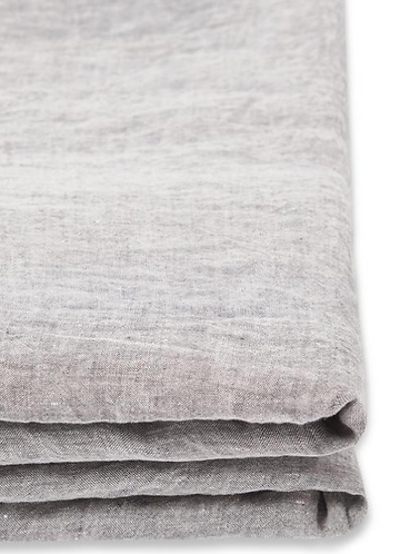 European linen fitted sheet King