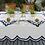 Thumbnail: Scalloped Linen Napkins Set/4 - Indigo
