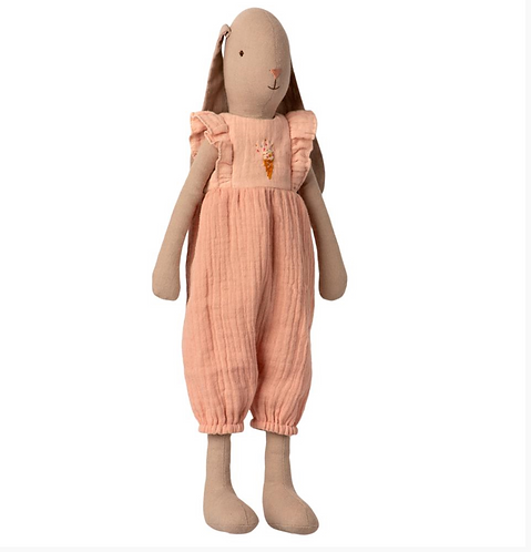 Maileg Bunny in Jumpsuit Rose