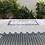 Thumbnail: Scalloped Linen Table Cloth - Indigo