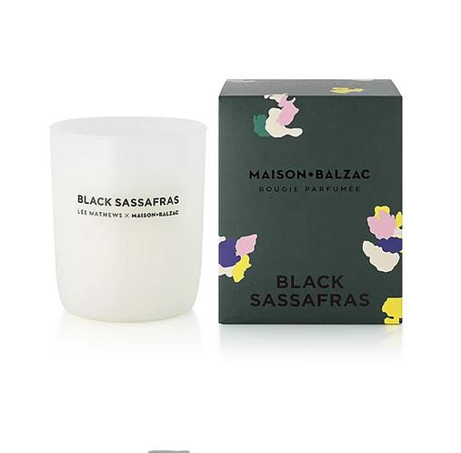 Maison Balzac Black Sassafras Candle
