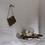 Thumbnail: European linen heavy weight euro pillowcases set white
