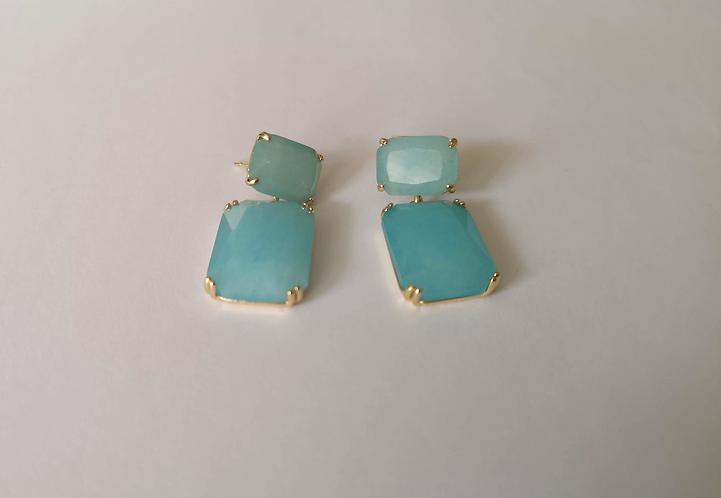 Sky Blue Wild Baby Earrings