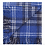 Thumbnail: Recycled Wool Travel-Picnic Rug The Blues