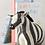 Thumbnail: Felt zebra bookends